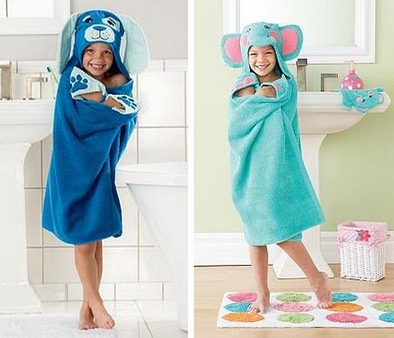 animal-hooded-bath-towels