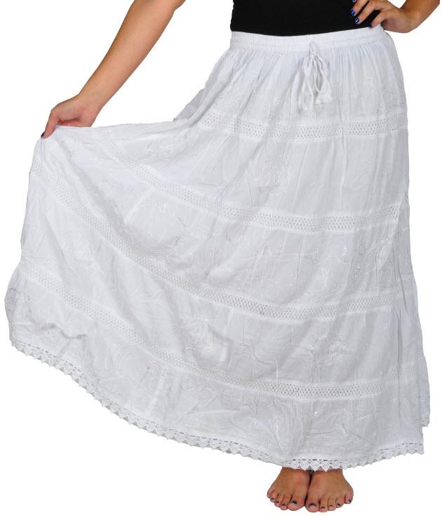 Ankle-length-skirt