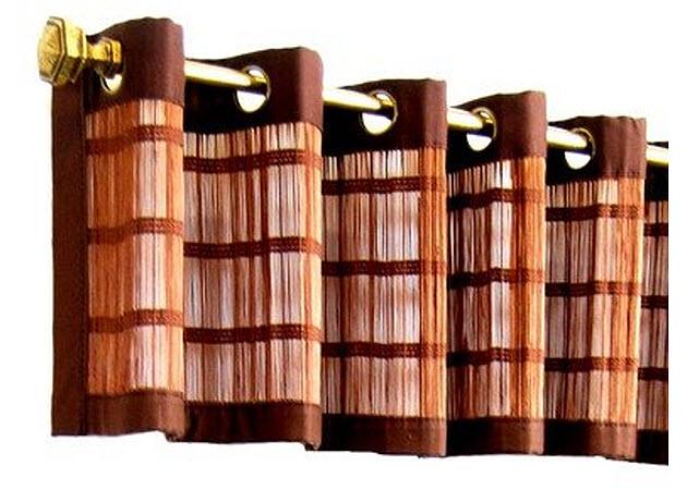 Bamboo-valance