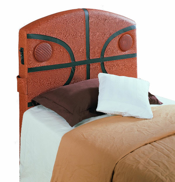 Basketball-bed