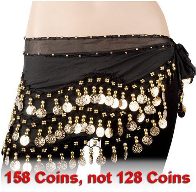 Belly-dance-hip-skirt