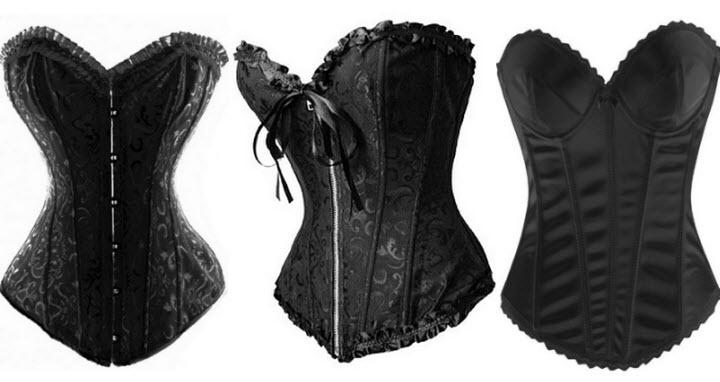 black-bridal-corset