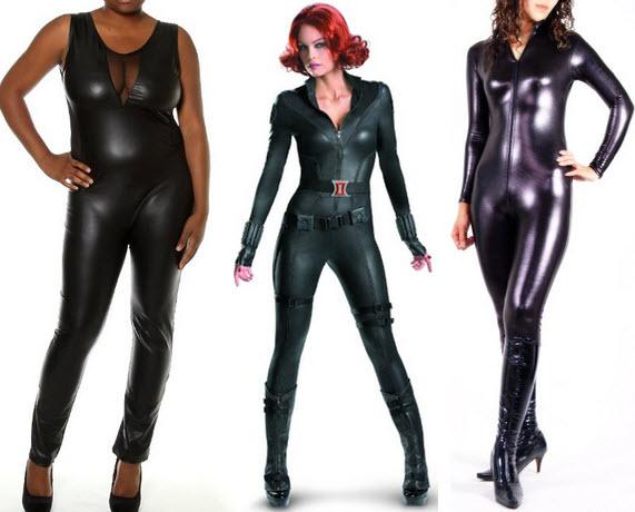 black-faux-leather-jumpsuit