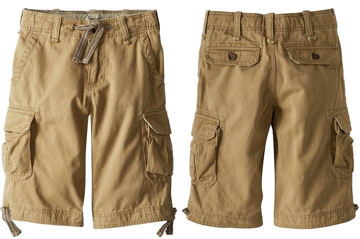 boys-khaki-cargo-shorts