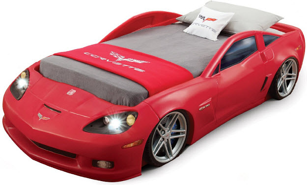 Car-bed-with-lights