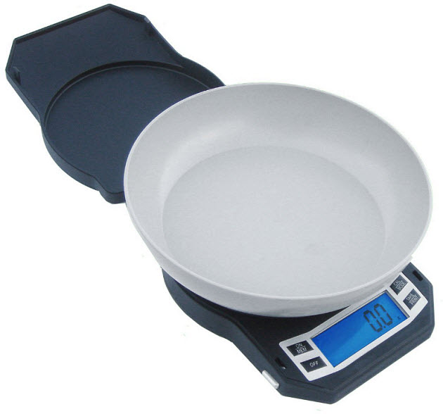 Digital-kitchen-scale-with-bowl