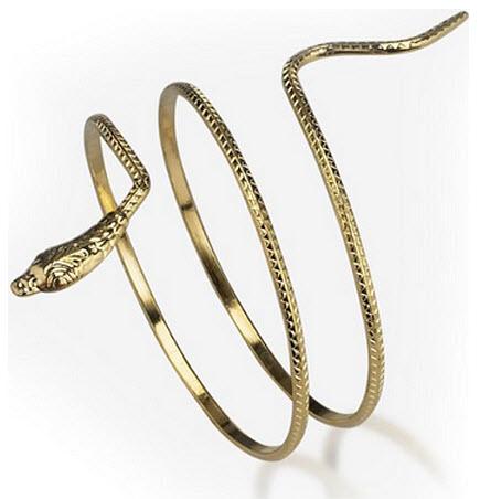egyptian-costume-snake-bracelet