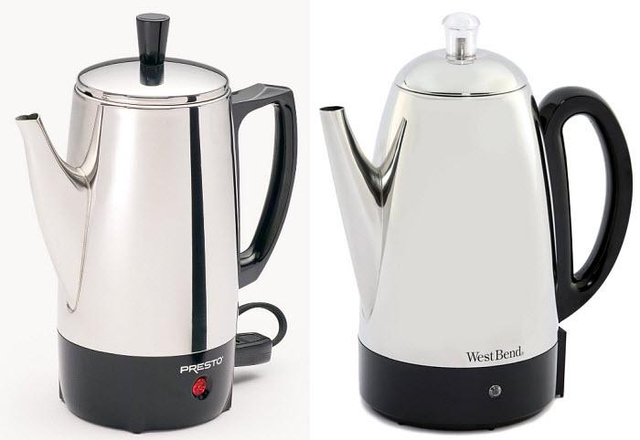 Electric-percolator-coffee-pot