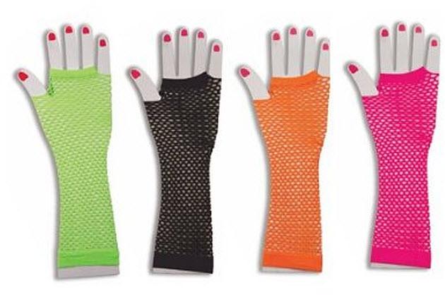 Fingerless-fishnet-gloves