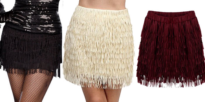 flapper-fringe-mini-skirt