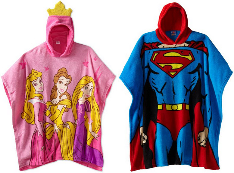 fleece-ponchos-for-kids