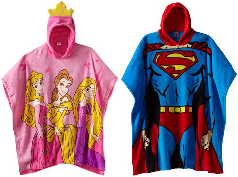 fleece-ponchos-for-kids