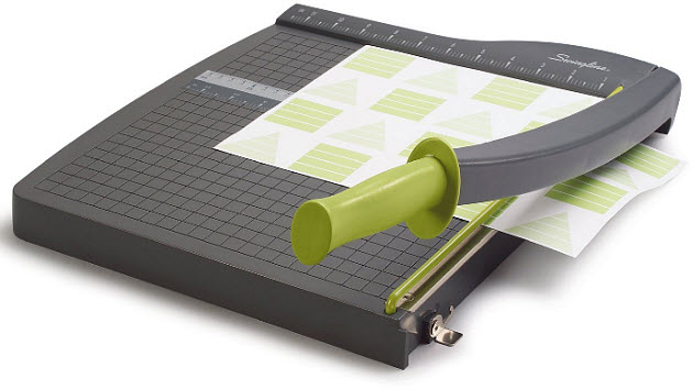 Guillotine-paper-trimmer