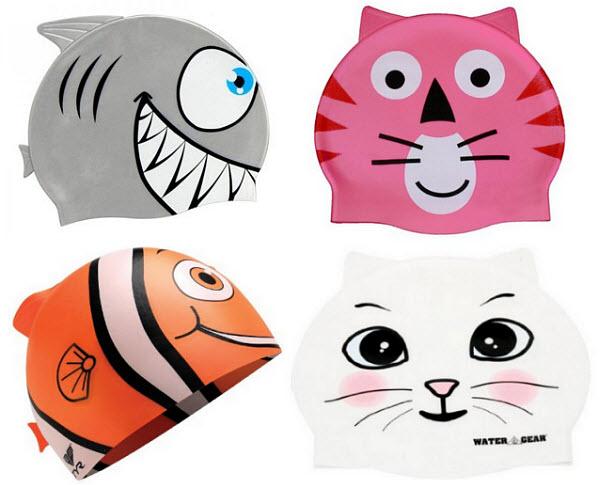 kids-animal-swim-cap