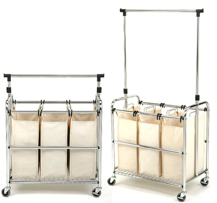 laundry-cart-on-wheels