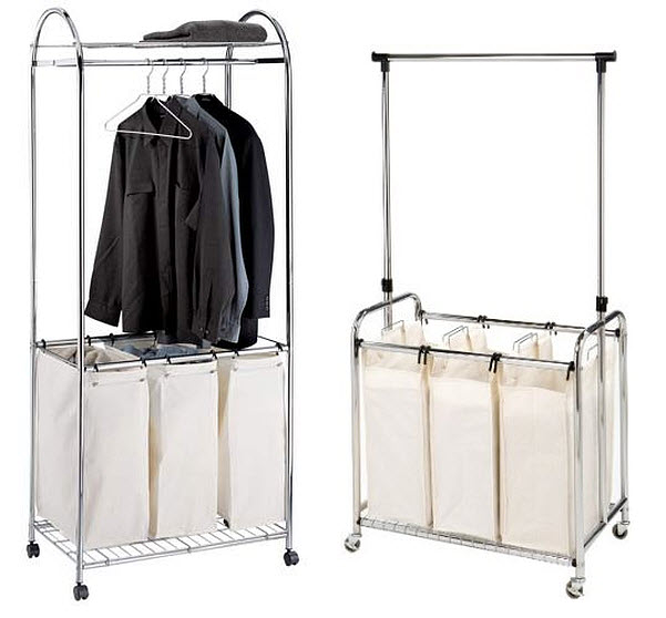 laundry-sorter-with-hanging-bar