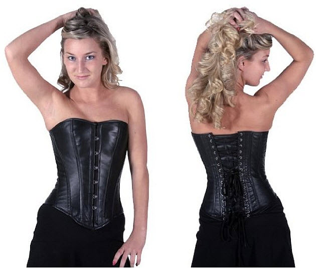 Leather-boned-corset