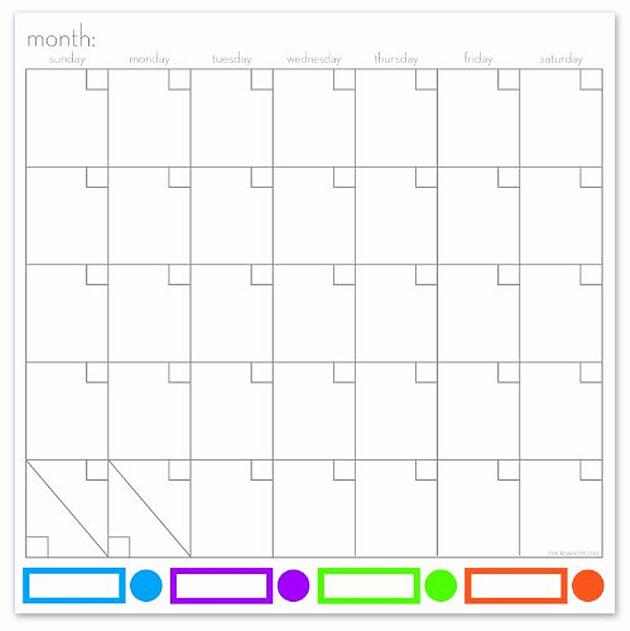magnetic-dry-erase-calendar-board