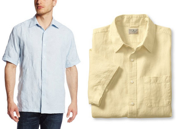 mens-short-sleeve-linen-shirt