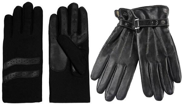 mens-womens-black-driving-gloves