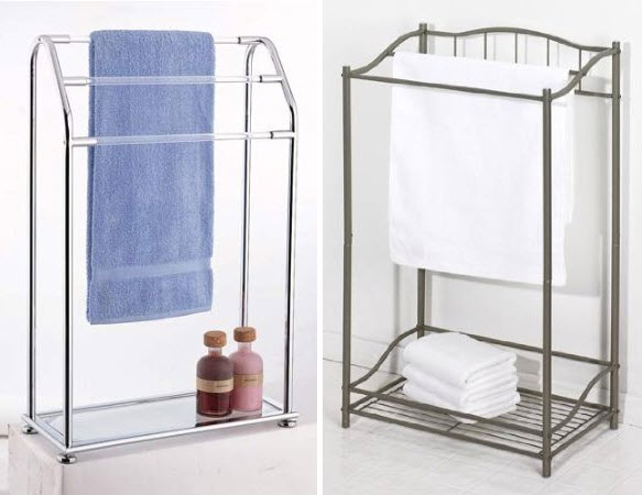 metal-bathroom-towel-rack