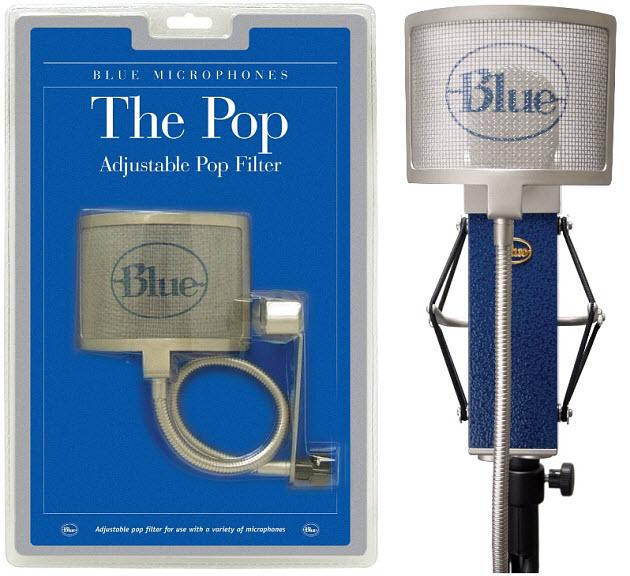Microphone-pop-screen