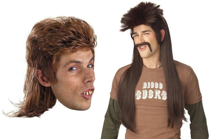 mullet-wig