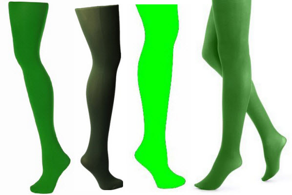 opaque-green-tights