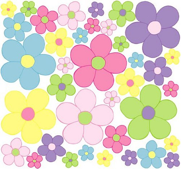 peel-and-stick-removable-flower-wall-decals