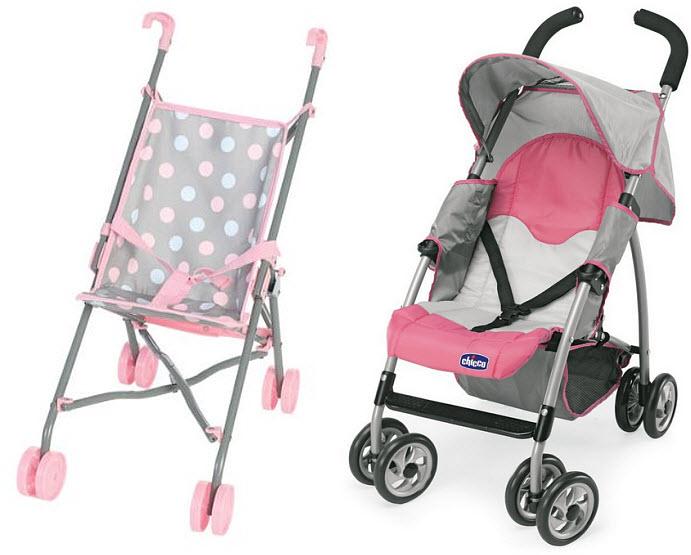 pink-folding-doll-stroller