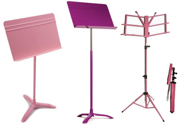 pink-music-stand