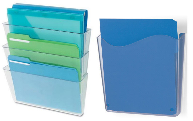 plastic-wall-mounted-file-holders