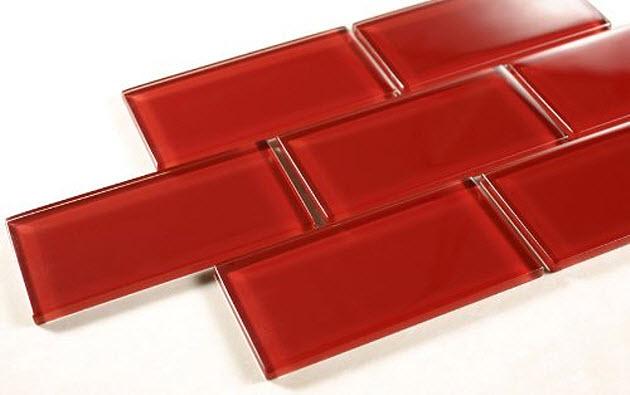 Red-backsplash