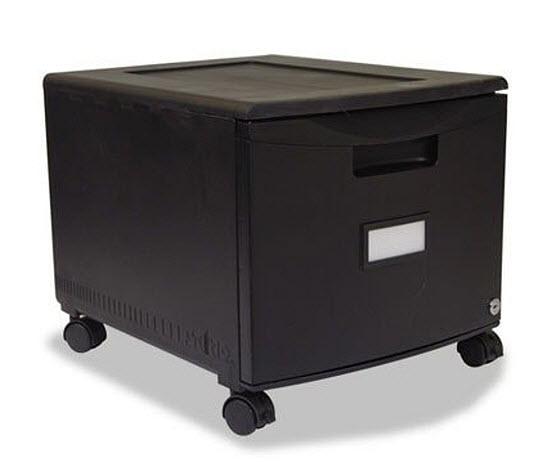 rolling-single-drawer-file-cabinet