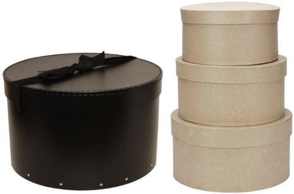 round-cardboard-hat-boxes