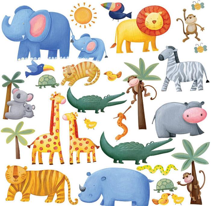 safari-wall-decals