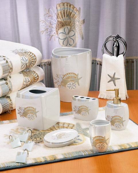 seashell-bathroom-accessories