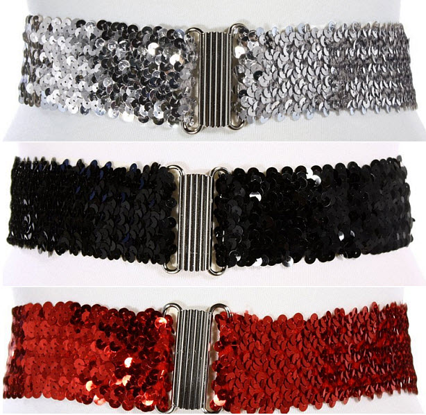 Sequined-belts