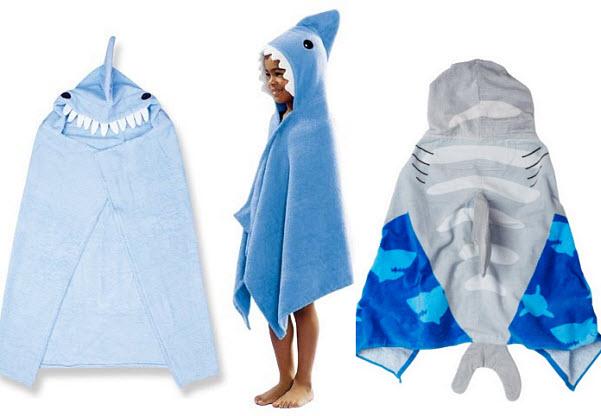 shark-hooded-beach-towel