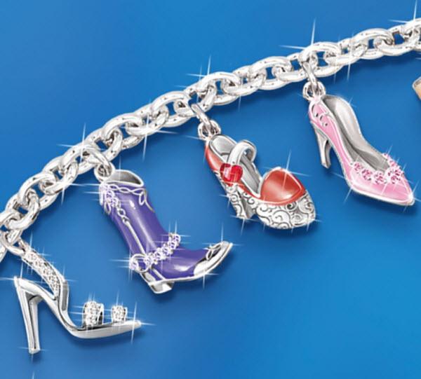 shoe-charm-bracelet