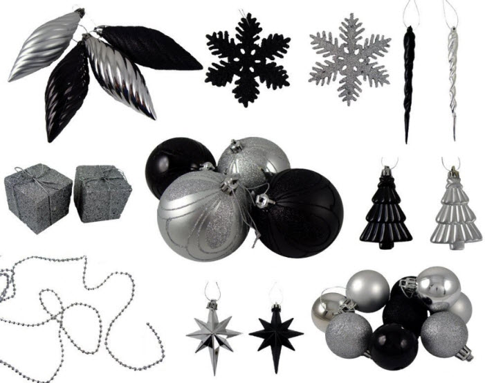 silver-christmas-tree-ornaments