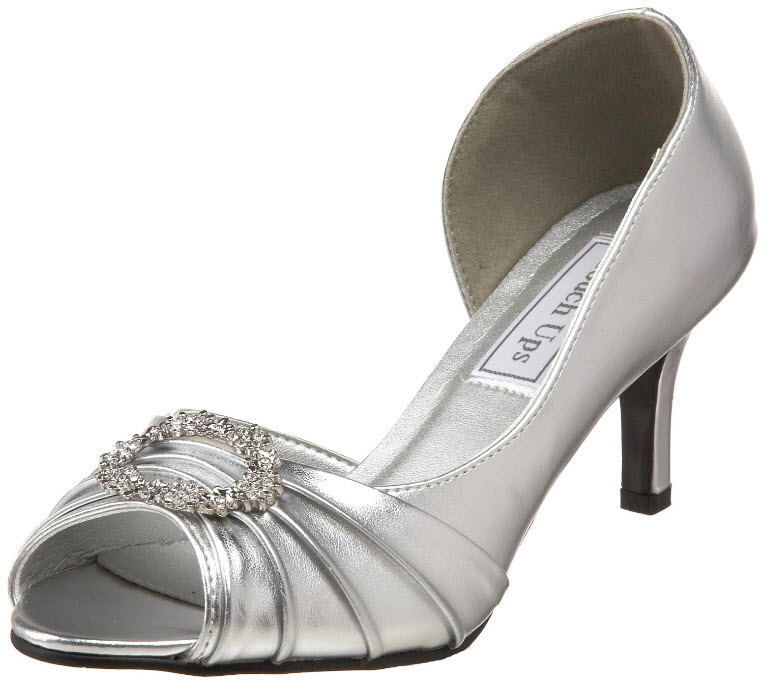 Silver-wedding-shoes-for-women