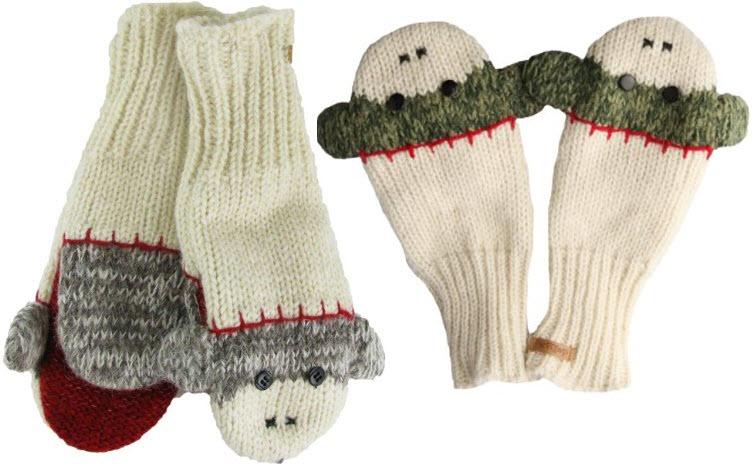 Sock-monkey-mittens