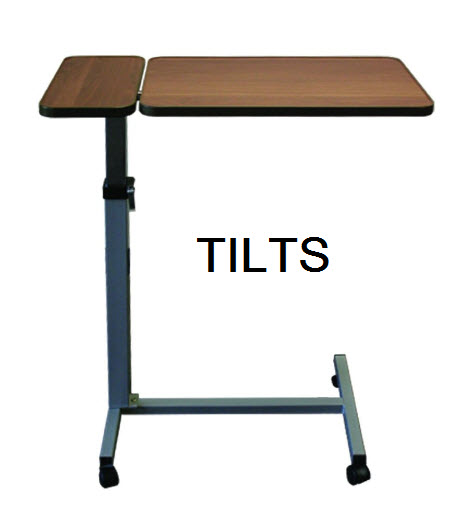 tilting-overbed-table