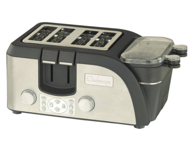 Toaster-with-egg-cooker