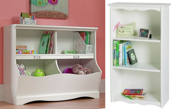 white-bookcase-for-kids-room