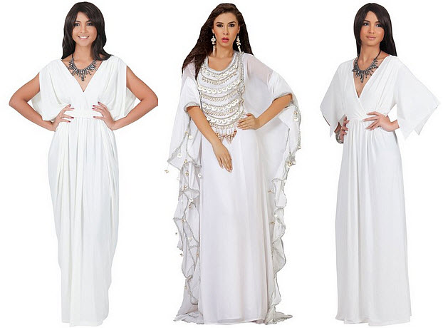 white-kaftan-maxi-dress