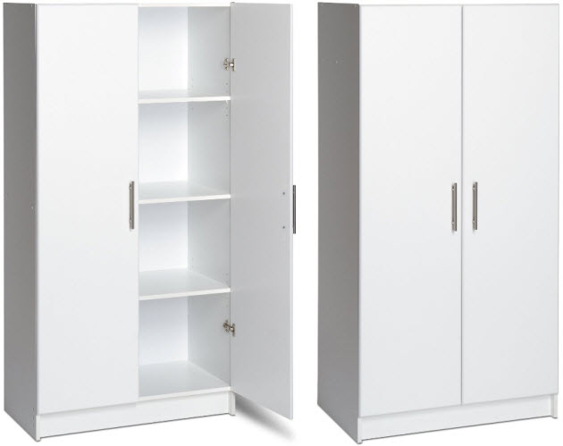white-storage-cabinets-with-doors