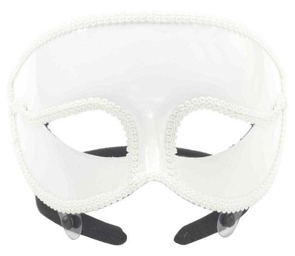 white-venetian-mask