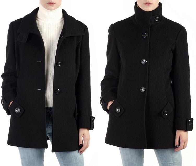 Womens-black-pea-coats-2